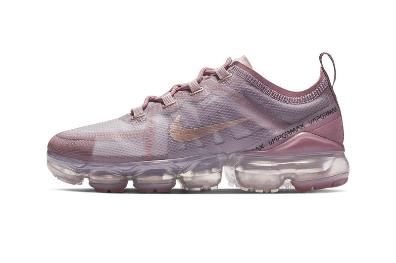 finest selection ba714 5a33b Nike Air VaporMax 2019 pink first look 2019 release info sneakers