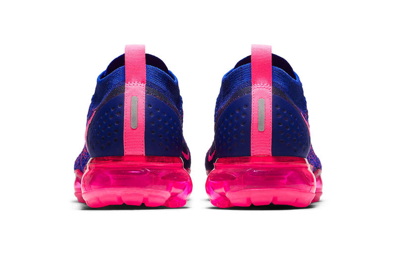 d4d653a3f5dee Nike Air VaporMax Flyknit 2.0 Racer Blue Release info Date Racer Pink Blue  sneaker colorway price