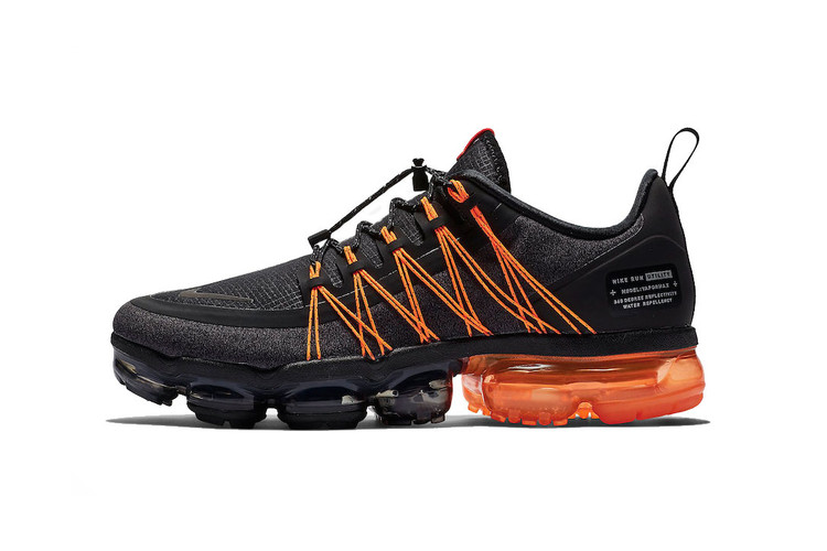 33644e5a16010 Nike Air VaporMax Run Utility Combines Black   Orange