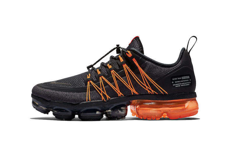 59319f96ac7a nike air vapormax run utility black orange 2018 november footwear nike  sportswear