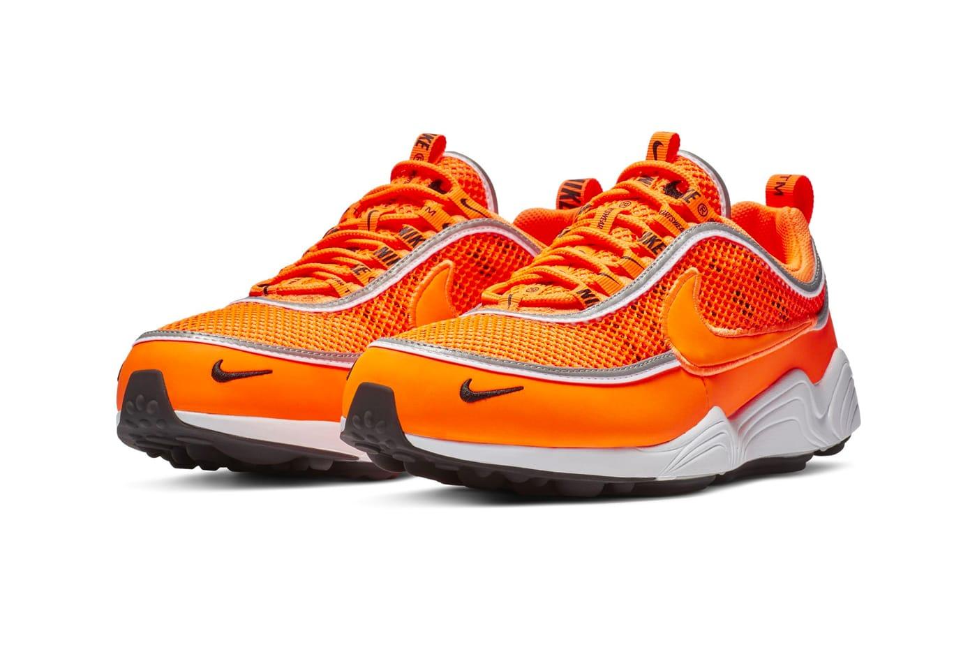 Nike Air Zoom Spiridon Orange Colorway