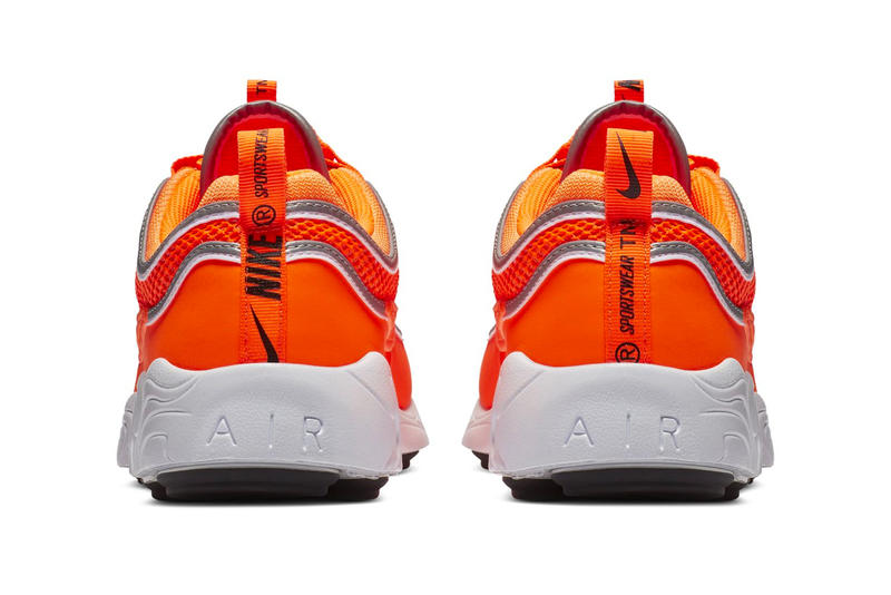 Nike Air Zoom Spiridon Orange Colorway sneaker release date info price purchase online first look kicks trainers