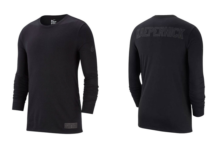 4ae8d438dcb Nike Releases New T-Shirt With Reflective Colin Kaepernick Logos
