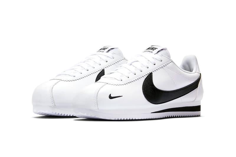 nike cortez premium swoosh white black 2018 footwear nike sportswear trademark ™ registered ®