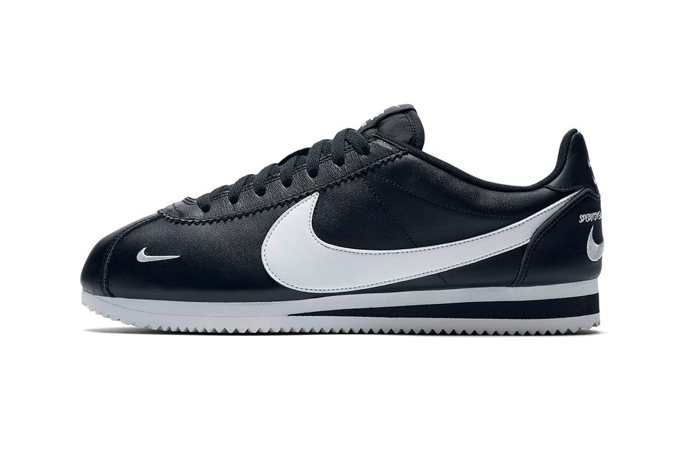quality design 4e80d 288cf Nike Cortez Premium Black White   HYPEBEAST DROPS