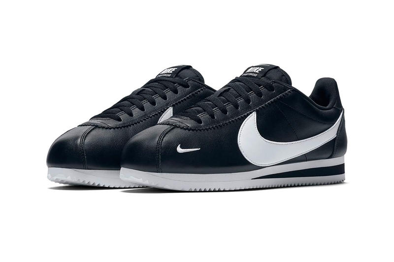 Nike Cortez Premium Black White release info sneakers leather