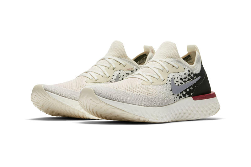 "Nike Epic React Flyknit ""Light Cream/Black"" EPIC REACT FLYKNIT LIGHT CREAM/SAIL/BLACK/REFLECT SILVER"