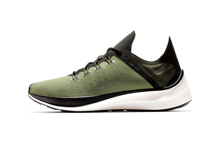 best loved 05084 0477f Nike Gives the EXP-X14 a Military-Inspired Olive Makeover