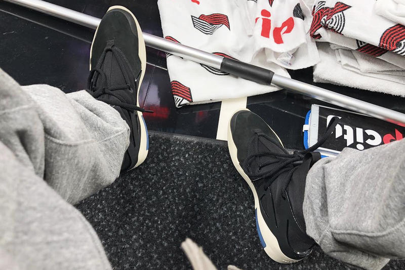 199ddacccdfb Jerry Lorenzo Previews Fear of God x Nike Sneaker in Black