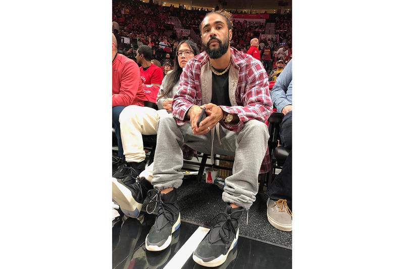 Nike Fear of God Collab Black Shoes Confirmed Shoes Kicks Trainers Sneakers Cop Purchase Buy Available Soon Jerry Lorenzo Teaser Lakers Portland Basketball