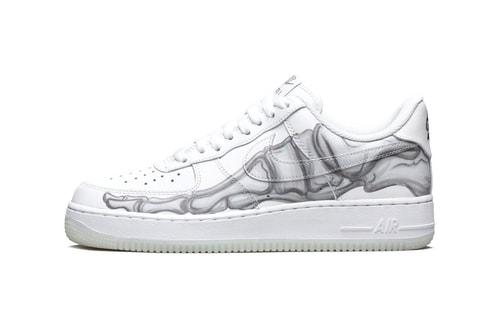 "Nike Air Force 1 QS ""Skeleton"""
