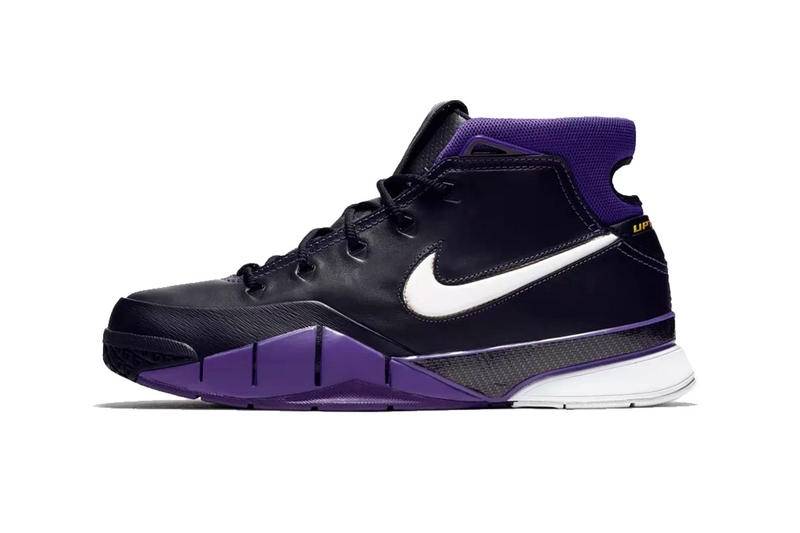 f61ac19e634c2f nike kobe 1 protro black white varsity purple release date 2018 october footwear  nike basketball kobe