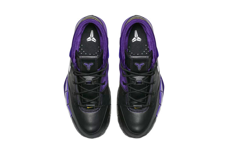 nike kobe 1 protro black white varsity purple release date 2018 october footwear nike basketball kobe bryant