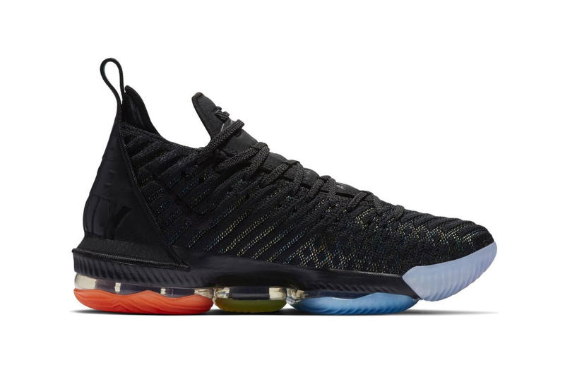 """Nike LeBron 16 """"I Promise"""" Release lebron james sneakers red blue black"""