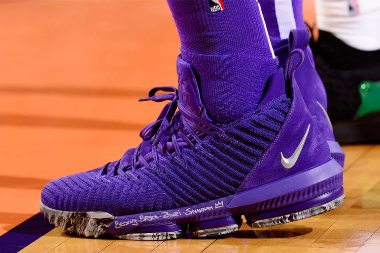 1d3cb64f70a LeBron James Powers Past Phoenix Suns in New Nike LeBron 16 PE