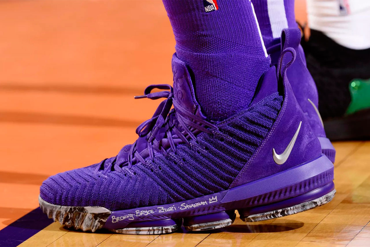 New Nike LeBron 16 PE Purple | HYPEBEAST