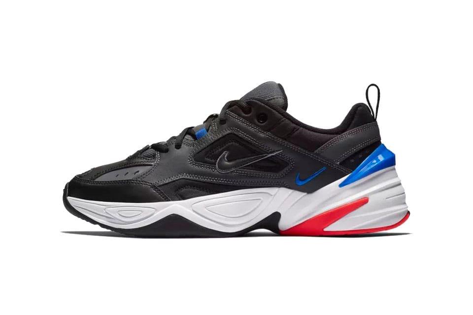 Nike M2K Tekno Dark Grey/Racer Blue