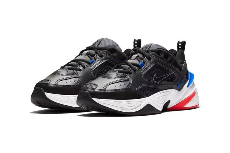 nike m2k tekno dark grey baroque brown racer blue release date 2018 nike sportswear