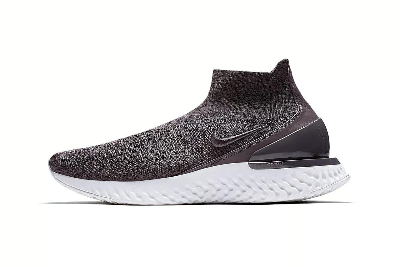 Nike Rise React Flyknit Shoe Details