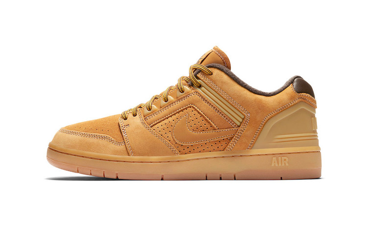 "d29ccd2e3a80 Nike SB Readies the Air Force 2 Low for Fall With ""Premium Wheat"" Makeover"