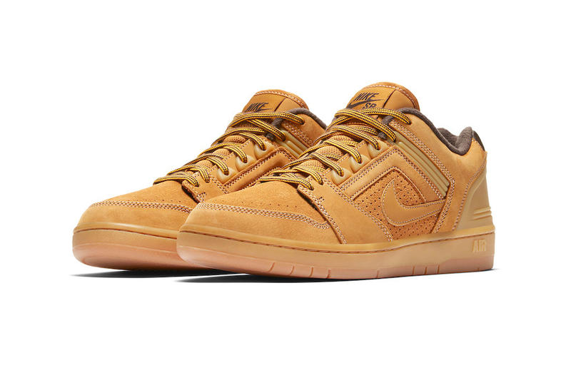 6d52a69e4d94 Nike SB Air Force 2 Low Premium Wheat sneakers fall winter 2018 release