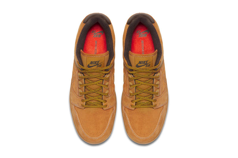 760608bc0af Nike SB Air Force 2 Low Premium Wheat sneakers fall winter 2018 release