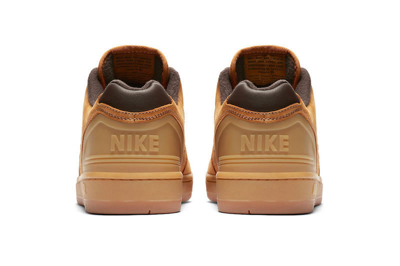 Nike SB Air Force 2 Low Premium Wheat sneakers fall winter 2018 release