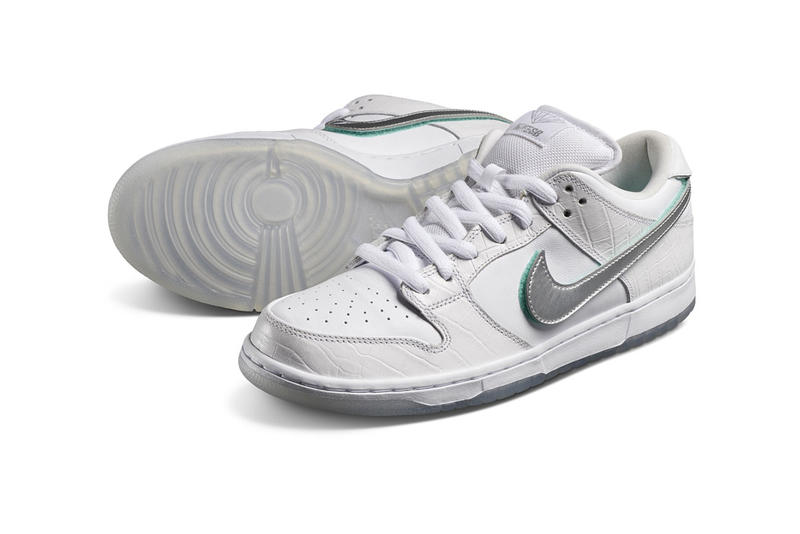 closer at hot product wholesale Diamond Supply Co. Nike SB