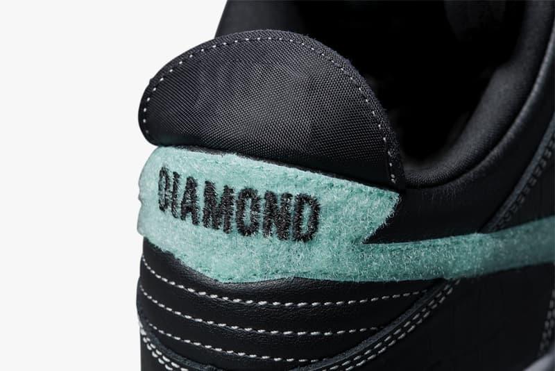 "Diamond Supply Co. Nike SB ""Diamond"" Dunk Low release complexcon white black diamond nicky diamond"