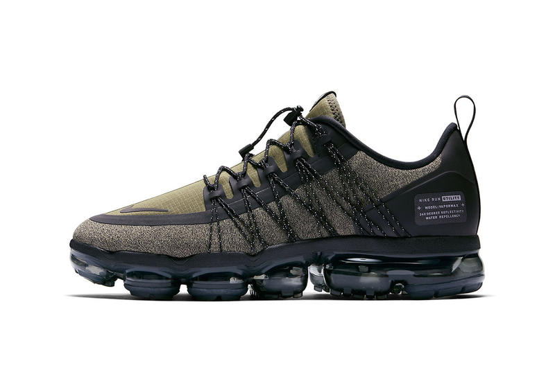 Nike Vapormax Run Utility Olive Green Sneaker Details First Look Shoes Trainers Kicks Sneakers Footwear Cop Purchase Buy Release Date Military Utilitarian