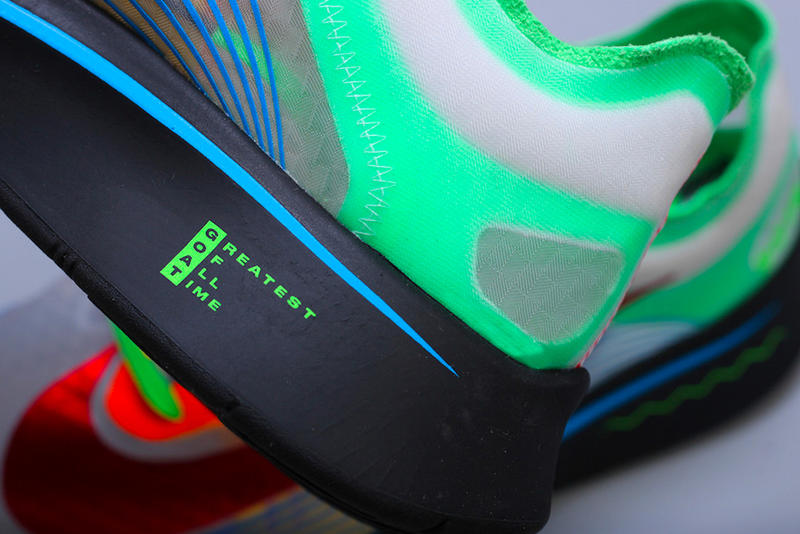 Nike Zoom Fly SP Doernbecher Closer Look Release Date Info White Green Shock Blue Hero Habanero Red Freestyle