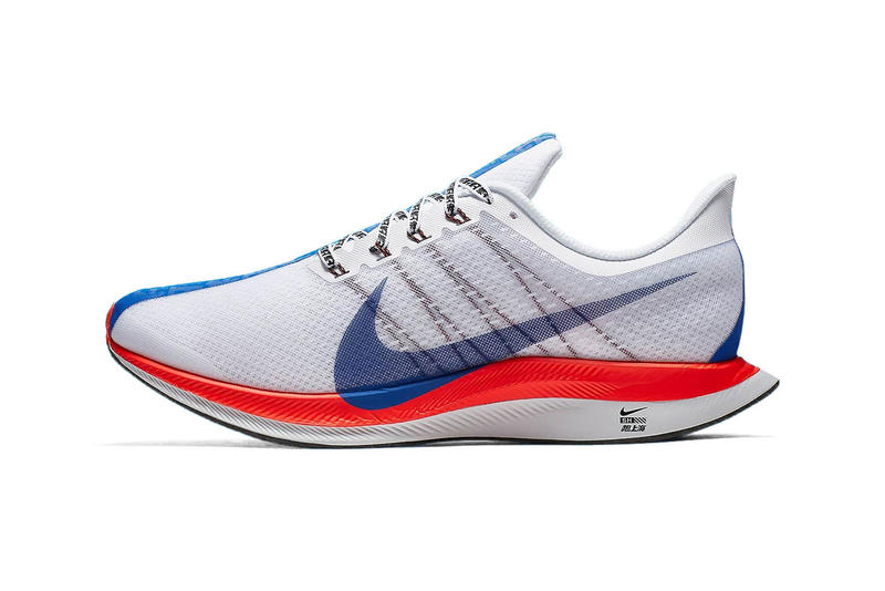 b8ec4dc33ebc1 Nike Zoom Pegasus 35 Turbo Shanghai Rebels Pack Official Look Marathon  White Red Blue