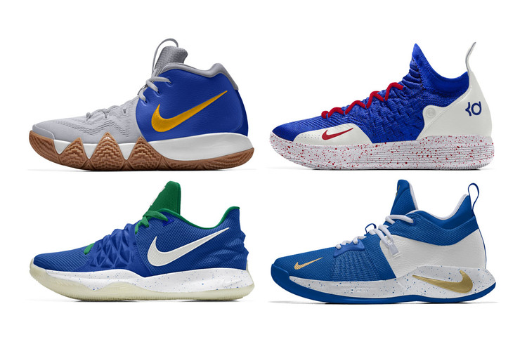 48d8d4fedb1 NIKEiD Adds Player-Designed Colorways to Its 2018-19 NBA Roster