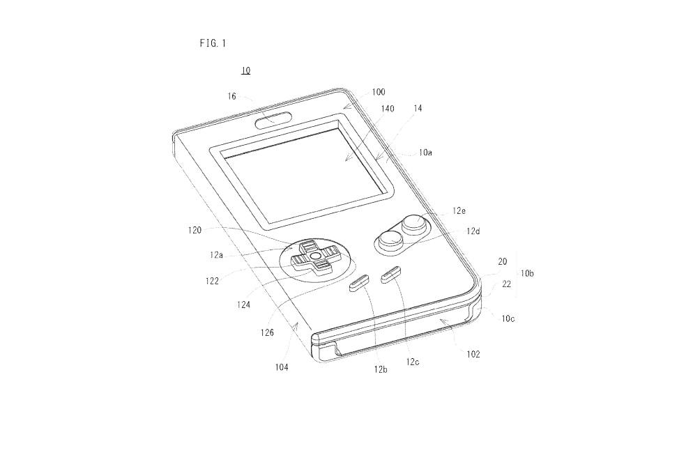 Nintendo Patented Playable Game Boy Phone Case