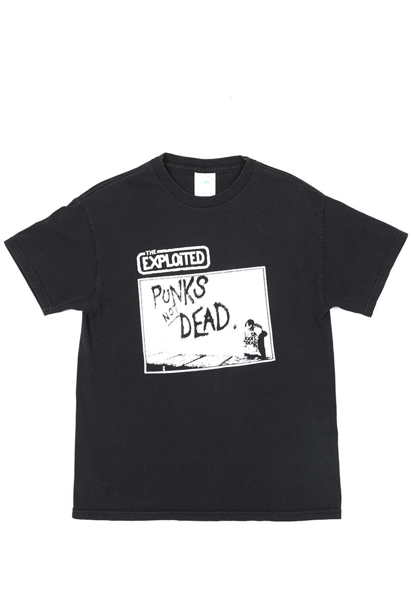 NOT APPLICABLE selfridges pop up vintage tee shirt release print drop october 29 2018 event london store