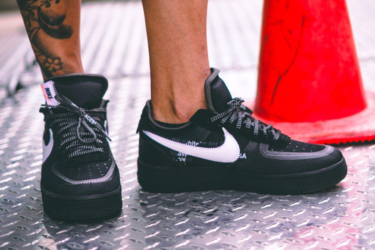 Off-White™ x Nike Black Cone Air Force
