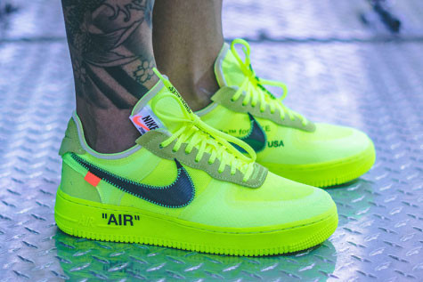 f029abedf60c95 Early On-Foot Look at the Off-White™ x Nike Air Force 1