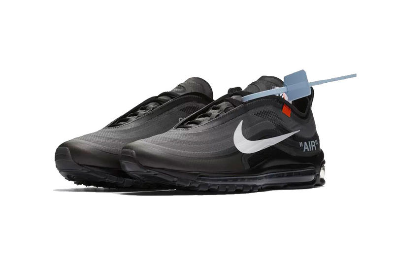 Inaccesible Mercado Enfermedad infecciosa  Off-White™ x Nike Air Max 97 Black Clean Look | HYPEBEAST