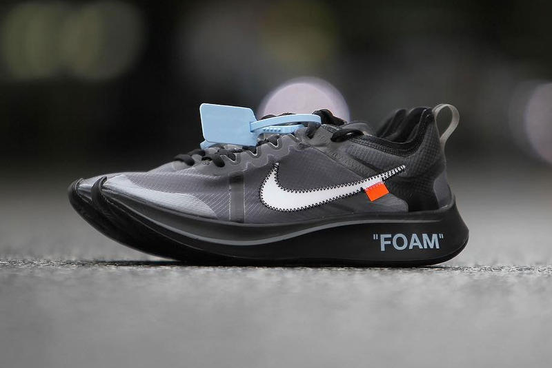 a97a1821ac130 Off-White Nike Zoom Fly SP Closer Look Pink Black Virgil Abloh New  Releasing Info