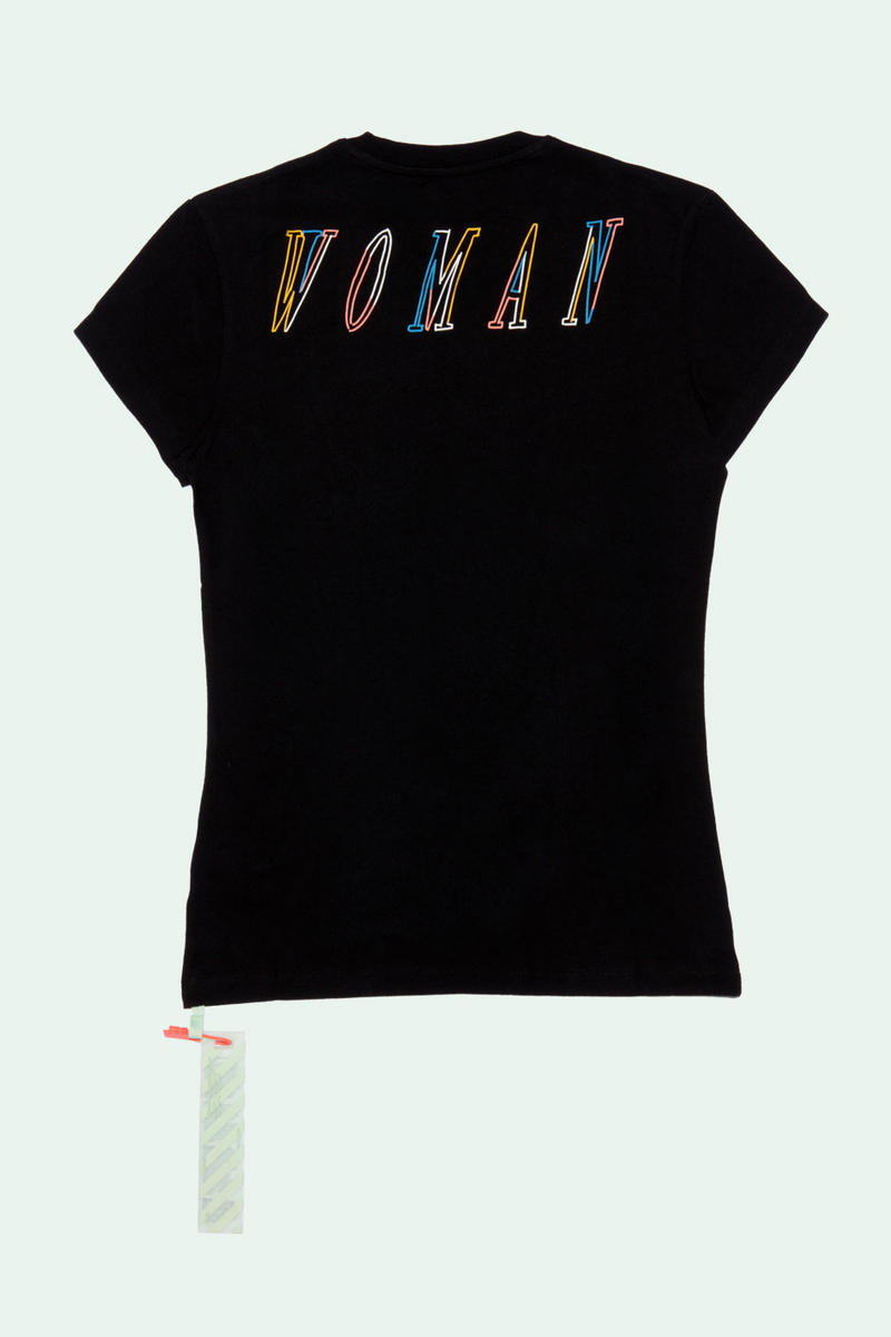 Off-White ™ x Vitkac Collection Full Look Available Now t shirts tees black white sneakers shoes hoodies sweatshirts sweatpants pants info buy