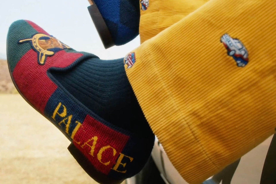 """c68d88b02db1 Palace   Ralph Lauren Reveal Full Collaboration   Release Date in New Video  Lookbook. """""""