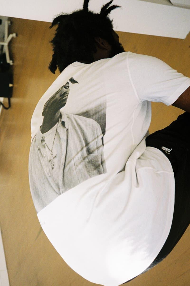 Patta Roma Publications Tupac Biggie Book reversible T-Shirt release info Dana Lixenberg Mevis & van Deursen Patta Soundsystem Vic Crezée