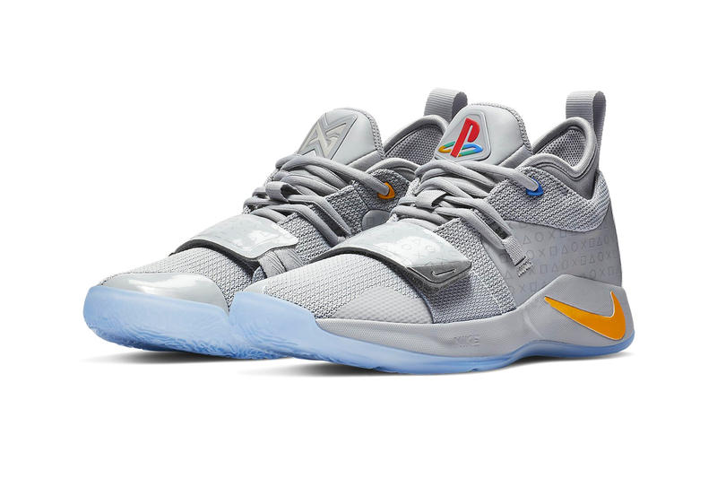Nike Pg 2 5 Sony Playstation Grey Colorway Hypebeast
