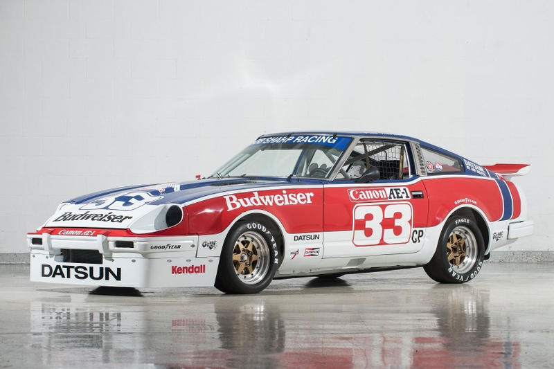 Paul Newman Championship 1979 Datsun 280ZX JDM Racing Sports car Champion manual classic car race car national champion chassis number 100026, SCCA C production class Z-car