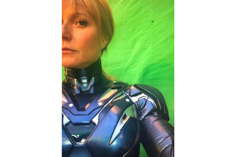 Pepper Potts Avengers 4 Rescue Armour Suit Reveal First Look Gwyneth Paltrow