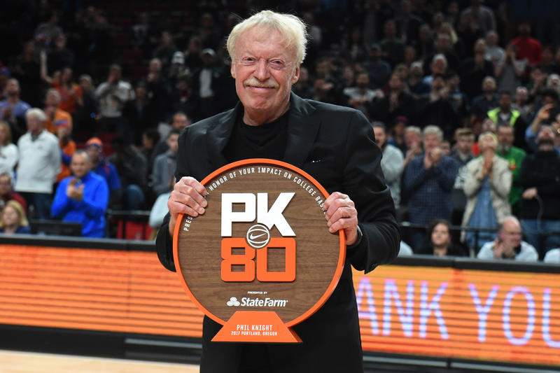 Phil Knight Charity 1 billion dollars Nike shares stock