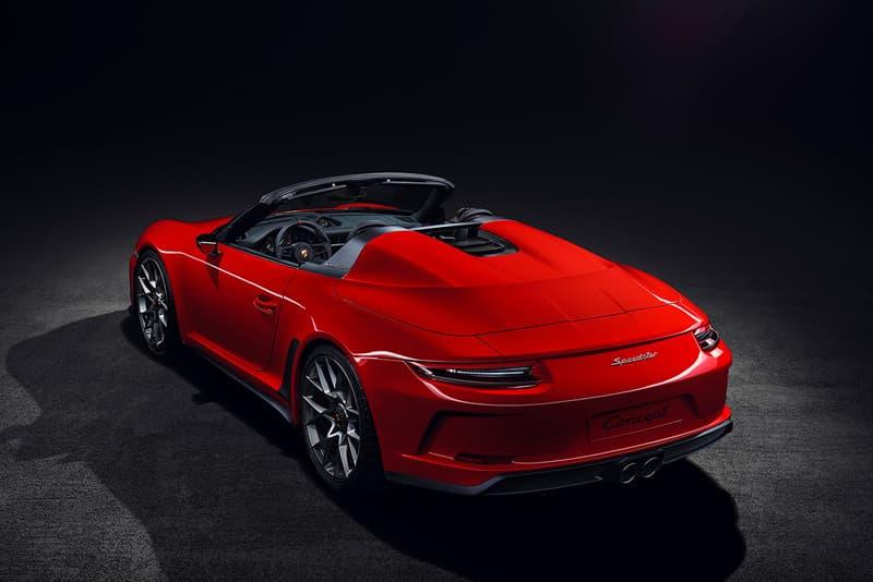 porsche 911 speedster 2019 limited production 1948 unitsHeritage Design Packages exclusive gt3 flat six engine