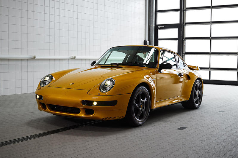 Porsche Classic Project Gold Selling Price auctions air-cooled Porsche turbo 993 RM Sotheby's cars automotive classic german engineering