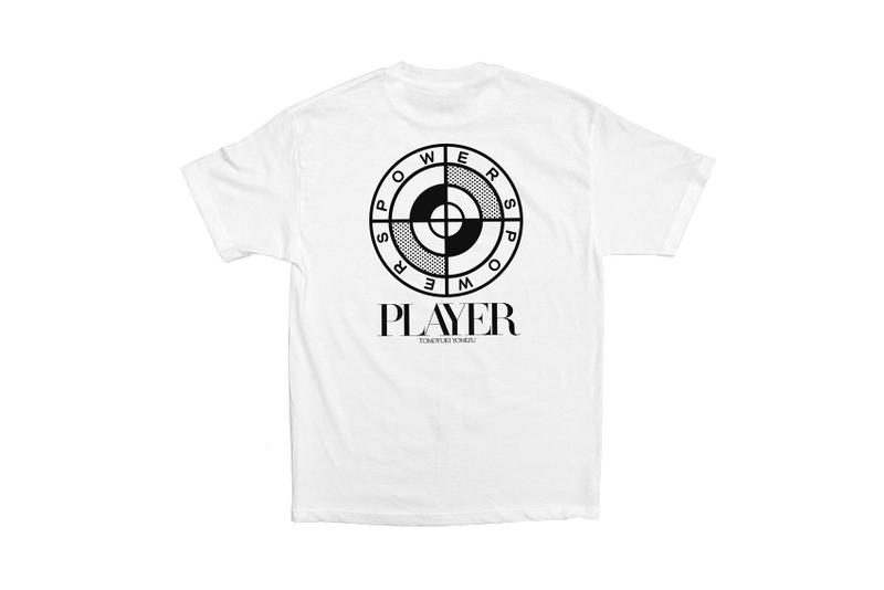 "Tomoyuki Yonezu x Powers Supply ""PLAYER"" T-Shirt capsule collection domicile tokyo japan release date graphics price"