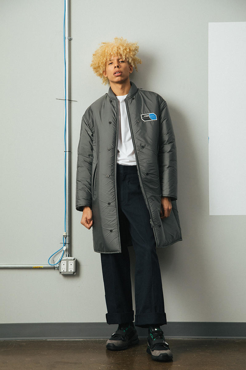 Prada Mechano Fall/Winter 2018 Lookbook orange blue green
